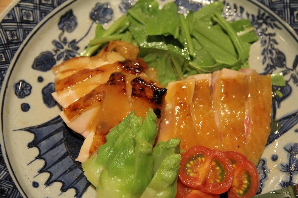 地鶏の味噌幽庵(ゆうあん)焼