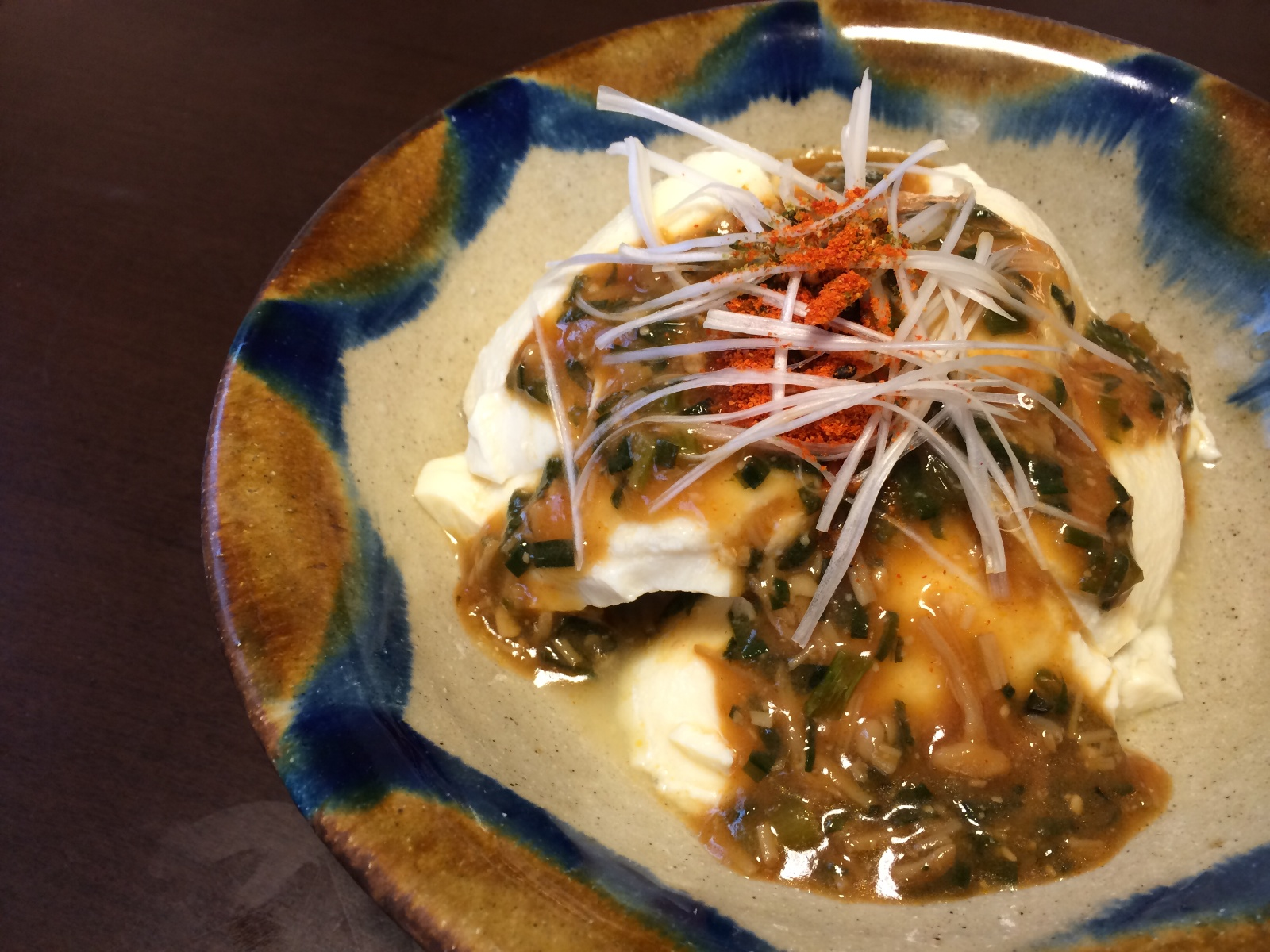 ピリ辛 冷製麻婆豆腐